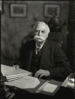 Sir Edward Bagnall Poulton, by Bassano Ltd - NPG x151558