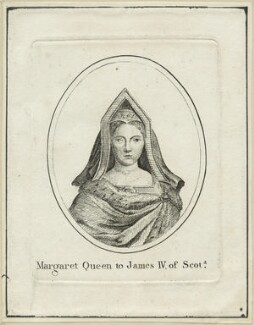 Margaret Tudor, after Hans Holbein the Younger, early 19th century - NPG D24198 - © National Portrait Gallery, London