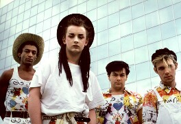 Culture Club (Mikey Craig; Boy George; Jon Moss; Roy Hay), by Derek Ridgers - NPG x88187