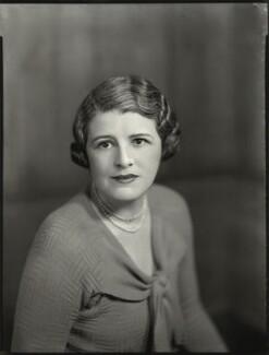 Sheila Marguerite Eaton (née Dumbleton), by Bassano Ltd - NPG x151565
