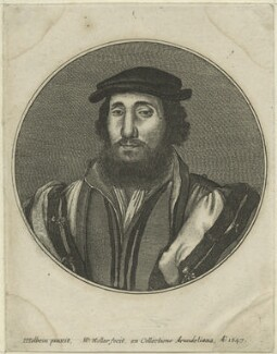 Charles Brandon, by Wenceslaus Hollar, after  Hans Holbein the Younger, possibly 1647 - NPG D24200 - © National Portrait Gallery, London