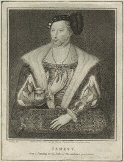 James V of Scotland, by Silvester (Sylvester) Harding, or by  Edward Harding, published by  Isaac Herbert - NPG D24202