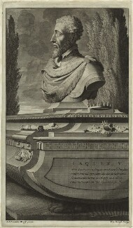 James V of Scotland, by Pieter Stevens van Gunst, after  Adriaen van der Werff - NPG D24203