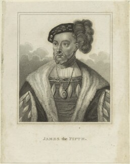James V of Scotland, after Unknown artist, early 19th century - NPG D24205 - © National Portrait Gallery, London