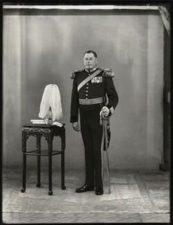 Henry Astell Law, 7th Baron Ellenborough, by Bassano Ltd - NPG x151590