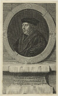 Thomas Cromwell, Earl of Essex, after Hans Holbein the Younger, possibly 1748 - NPG D24210 - © National Portrait Gallery, London