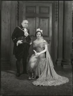 Sir Stephen Killik; Dorothy Lillian Molyneux Greenland (née Killik), by Bassano Ltd - NPG x151602
