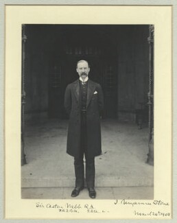 Sir Aston Webb, by Benjamin Stone - NPG x45009