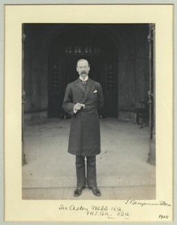 Sir Aston Webb, by Benjamin Stone - NPG x45010