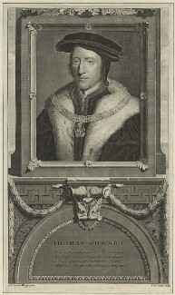 Thomas Howard, 3rd Duke of Norfolk, by Pieter Stevens van Gunst, after  Adriaen van der Werff - NPG D24216