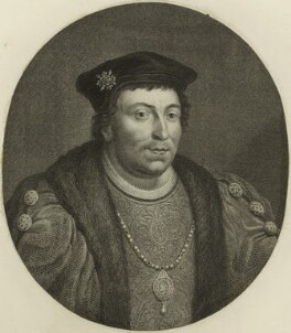 Edward Stafford, 3rd Duke of Buckingham, probably by Jacobus Houbraken, after  Hans Holbein the Younger - NPG D24218