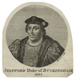 Edward Stafford, 3rd Duke of Buckingham, by William Sherlock, after  Hans Holbein the Younger - NPG D24219