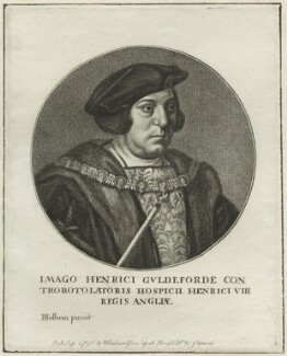 Sir Henry Guildford, after Hans Holbein the Younger - NPG D24221
