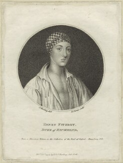Henry Fitzroy, 1st Duke of Richmond and Somerset, by R. Clamp, published by  E. & S. Harding, after  Silvester (Sylvester) Harding - NPG D24223