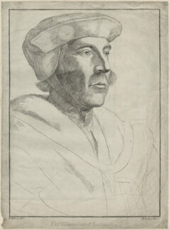 William FitzWilliam, Earl of Southampton, by Richard Dalton, after  Hans Holbein the Younger - NPG D24226