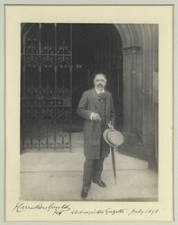 Sir Francis Carruthers Gould ('F.C.G.'), by Benjamin Stone - NPG x44686