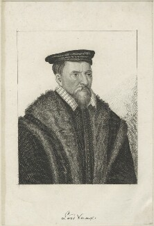 Thomas Vaux, Vaux of Harrowden, after Hans Holbein the Younger - NPG D24228