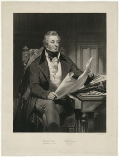 Richard Berens, by Samuel William Reynolds, after  James Sant - NPG D31689