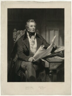 Richard Berens, by Samuel William Reynolds, after  James Sant - NPG D31690