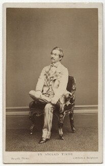 Charles James Mathews in 'Un Anglais Timide', otherwise 'Cool as a Cucumber', by John Jabez Edwin Mayall - NPG x21237