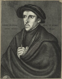 Henry Howard, Earl of Surrey, possibly by Wenceslaus Hollar, after  Hans Holbein the Younger, possibly 17th century - NPG D24233 - © National Portrait Gallery, London