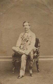 Charles James Mathews in 'Un Anglais Timide', otherwise 'Cool as a Cucumber', by John Jabez Edwin Mayall - NPG x21238