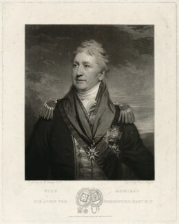 Sir John Poo Beresford, 1st Bt, by Thomas Hodgetts, after  Sir William Beechey, published 1828 - NPG D31698 - © National Portrait Gallery, London