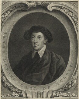 Henry Howard, Earl of Surrey, by Jacobus Houbraken - NPG D24237