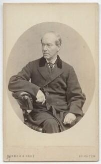 Charles James Mathews, by Hennah & Kent - NPG x21241