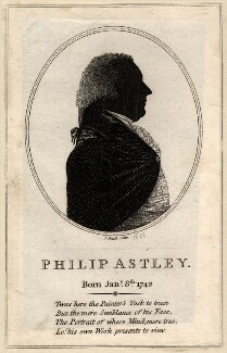 Philip Astley, by J. Smith, circa 1801 - NPG D9010 - © National Portrait Gallery, London