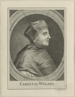 Thomas Wolsey, possibly by George Vertue, after  Hans Holbein the Younger - NPG D24248