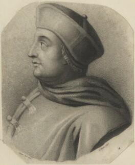 Thomas Wolsey, by Charles Picart, after  Adriaen van der Werff - NPG D24249