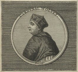 Thomas Wolsey, by Hall, after  Hans Holbein the Younger, probably 18th century - NPG D24251 - © National Portrait Gallery, London