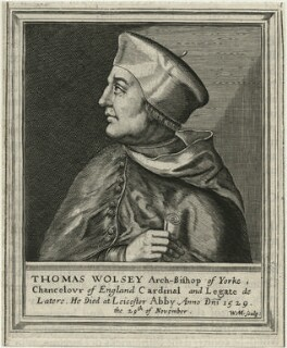 Thomas Wolsey, by William Marshall, published 1642 - NPG D24256 - © National Portrait Gallery, London
