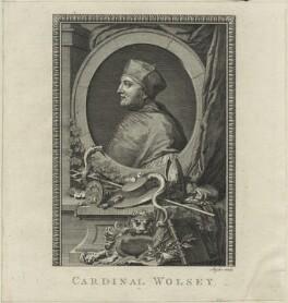Thomas Wolsey, by Thomas Ryder - NPG D24257