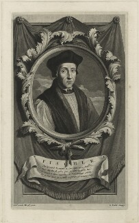 John Fisher, by Gerard Valck, after  Adriaen van der Werff - NPG D24260