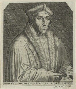 John Fisher, possibly by Étienne Jehandier Desrochers - NPG D24261