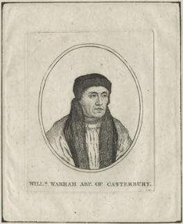 William Warham, after Hans Holbein the Younger, possibly early 19th century - NPG D24269 - © National Portrait Gallery, London
