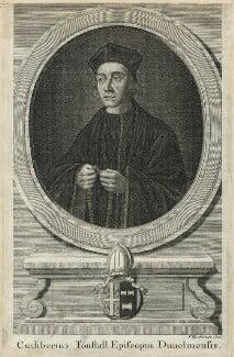 Cuthbert Tunstall ('Cuthbertus Tonstall Episcopus Dunelmensis'), by Paul Fourdrinier (Pierre) - NPG D24270