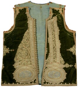 Embroidered waistcoat belonging to Thomas Hope, by Unknown artist - NPG D31703