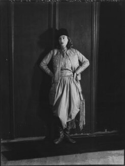 Lady Isobel Blunt-Mackenzie (later Lady Isobel Linda), by Bassano Ltd - NPG x151636