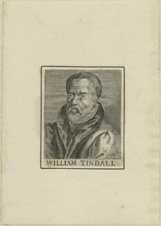 William Tyndale, after Unknown artist, possibly 17th century - NPG D24290 - © National Portrait Gallery, London