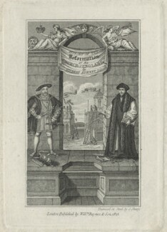 King Henry VIII and Sir Thomas More, by John Shury - NPG D24308