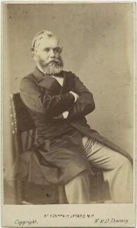 Sir Austen Henry Layard, by W. & D. Downey - NPG x17118