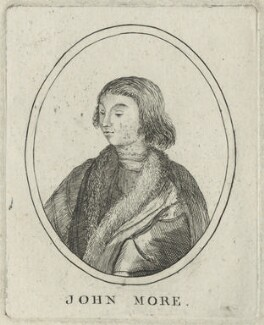 John More, after Unknown artist - NPG D24312