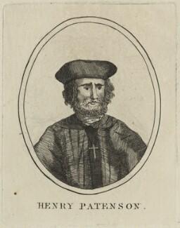 Henry Patenson, after Unknown artist - NPG D24314