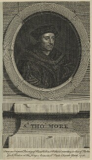 Sir Thomas More, after Hans Holbein the Younger, published 1748 - NPG D24315 - © National Portrait Gallery, London