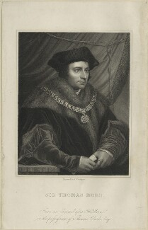 Sir Thomas More, by Richard Woodman, probably early to mid 19th century - NPG D24317 - © National Portrait Gallery, London