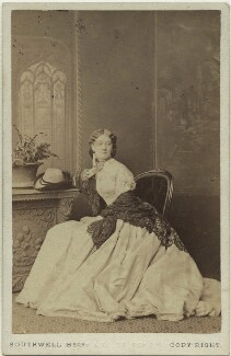 Rose Leclercq, by Southwell Brothers, 1860s - NPG  - © National Portrait Gallery, London