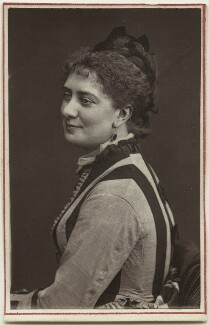 Rose Leclercq, by Unknown photographer - NPG Ax7711